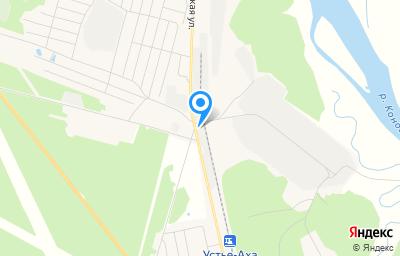 Местоположение на карте пункта техосмотра по адресу Ханты-Мансийский Автономный округ - Югра АО, пгт Междуреченский, ул Сибирская, влд 121