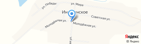 Фельдшерско-акушерский пункт на карте Ингалинского
