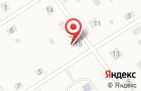 Схема проезда до компании Почтовое отделение в Киёво