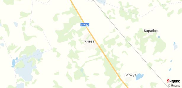 Киёво на карте