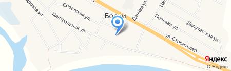 Библиотека на карте Борок