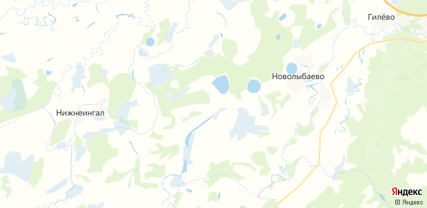 Карасье на карте