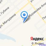 Карусель на карте Ялуторовска