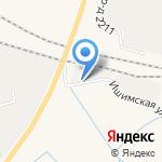 Вторчермет НЛМК Западная Сибирь на карте Ялуторовска