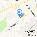 Парикмахерская на карте Ялуторовска
