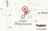 Схема проезда до компании Администрация Памятнинского сельского поселения в Памятном