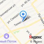 Абсолют на карте Ялуторовска