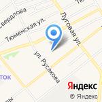 Низкоцен на карте Ялуторовска