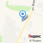 Регион Механизация на карте Ялуторовска
