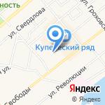 Юта на карте Ялуторовска