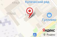 Схема проезда до компании Кедр-Маркетинг в Ялуторовске