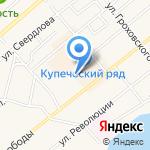 Радио Сити на карте Ялуторовска