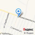 Брусника на карте Ялуторовска
