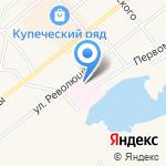 Светлый на карте Ялуторовска
