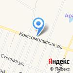 Зодиак на карте Ялуторовска