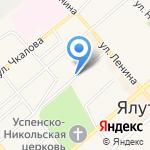 Центр туризма и детского творчества на карте Ялуторовска