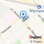 Katerina на карте Ялуторовска