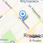 Метелица на карте Ялуторовска