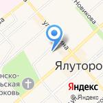 Сбербанк на карте Ялуторовска