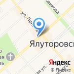 Мастерская по ремонту обуви на карте Ялуторовска