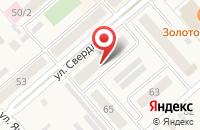 Схема проезда до компании Касса №1 в Ялуторовске