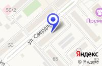 Схема проезда до компании БАНК СИБНЕФТЕБАНК (ОПЕРАЦИОННАЯ КАССА) в Ялуторовске