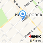 Тюменский расчетно-информационный центр на карте Ялуторовска