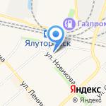 Триколор ТВ на карте Ялуторовска