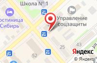 Схема проезда до компании Интел-Строй в Ялуторовске
