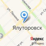 Сибирские наряды на карте Ялуторовска