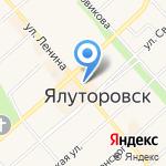 Буквоед на карте Ялуторовска