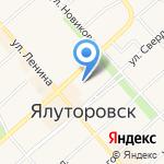 Ялуторовский комплексный центр социального обслуживания населения на карте Ялуторовска
