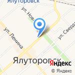 Евросеть на карте Ялуторовска