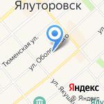 Стелс на карте Ялуторовска