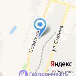 Аленушка на карте Ялуторовска