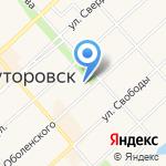 Дуэт на карте Ялуторовска