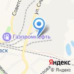 Юнигрэйн на карте Ялуторовска