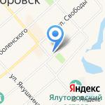 Администрация Ялуторовского муниципального района на карте Ялуторовска