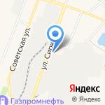 Родничок на карте Ялуторовска