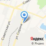 Машенька на карте Ялуторовска