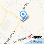 Томиловский на карте Ялуторовска
