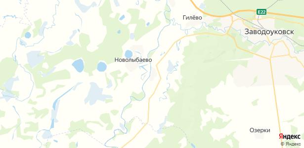 Сунгурово на карте