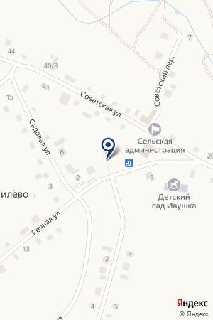 Начальная общеобразовательная школа на карте Гилёво
