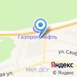 Автомойка на карте Заводоуковска