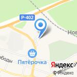 Заводоуковск-Лада на карте Заводоуковска
