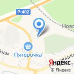 Лакомка на карте Заводоуковска