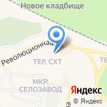 Лотос на карте Заводоуковска