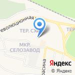 Магазин по продаже бытовой химии на карте Заводоуковска