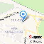 Енисей на карте Заводоуковска