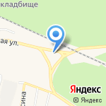 Движение на карте Заводоуковска